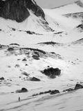 Баргузинский хребет, начало июня, мокрый снег