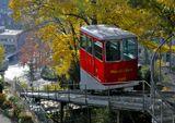 Швейцария, Цюрих, транспорт, осень, фуникулер, подъемник