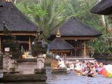 Церемония в балийском храме.