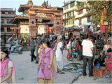 Непал, Катманду, воскресный день
