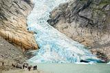 Норвегия ледник Briksdalsbreen