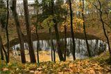 Эстония. Самый эстонский остров Тамсааре. Местная достопримечательнсть - озеро в кратере метеорита, как повествует легенда. Место действительно энергенически необычное, поверьте старой ведьмочке.