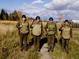 В армии каждый сходит с ума по-своему, но страдают от этого, как правило, почему-то другие...С праздником, мужики!