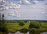 Вид из окна поезда Н.Новгород - Москва