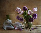 Стихи, Пушкин, тюльпаны