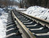 Центральный парк, укладка рельс узкоколейной железной дороги.