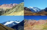 По дороге из Чиле в Аргентину.