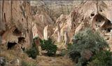 Каппадокия, пещерный город