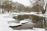Зимний пейзаж. Река Рожайка, Домодедовский р-он Подмосковья.