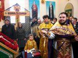 Храм Святого Игоря Черниговского (Владивостокская епархия), Крестопоклонная неделя Великого поста.