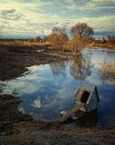 Половодье на реке Дубна.Талдомский р-нМосковской области.
