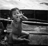 Камбоджа. Люди, живущие на воде.