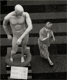 ГУМ... экспозиция, посвященная изобретениям Леонардо да Винчи... весьма занимательная, рекомендую заглянуть, там такие сюжеты! :)
