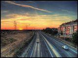окраина городка Leganes под Мадридом