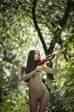Фотосет со скрипкой