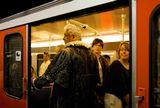 Гамбург, метро, случайная сцена.