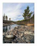 Pentax 67+45mm/4, Kodak Ektar100.Кольский п-ов, река Колвица, 30 апреля 2011