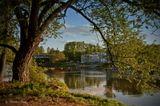 Тверь.вечер.река Тверца