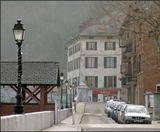 Маленький горный городок где-то во Франции. Раннее утро.