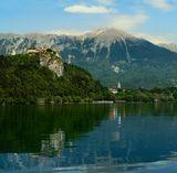 город Блед. Бледский замок. Словения.
