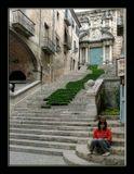 Жерона, Испания. Старый город