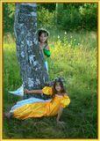 Шли эльфы по лесу , шли , да и притомились ... И решили они себе привал устроить ...)))