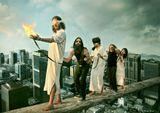 "группа Orphaned Land - работа использована для обложки их DVD ""The Road to Or Shalem"""