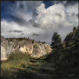 Горное ущелье в Окинском районе Бурятии.