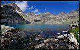 Алтай, Катунский заповедник, озеро Изумрудное