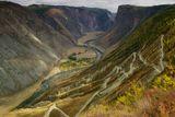 Горный Алтай, перевал Кату -Ярык протяжённостью 3,5км