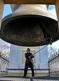 Томск, Большой Томский колокол, звон, звонарь, церковь