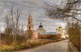 Казанский монастырь, Вышний Волочек, ноябрь 2011 года.