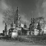 На фотографии представлен храм во имя Воскресения Христова, Ярославской области, Гаврилов-Ямского района, село Остров.