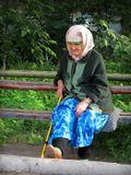 Сто лет уже не за горами, Сто лет лежат уж на плечах. Закутав голову платками Старушка охает: ОХ! АХ!Снимок сделан в июне 2011г., а в августе бабуле исполнилось 100 лет!