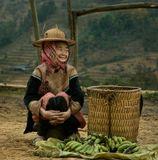 Северный  Вьетнам. Высокогорный рынок в местечке Бак Ха.