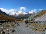 Алтай, долина Ярлу, осень, сентябрь, город камней