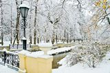 Снег, впервые выпавший в Кисловодске