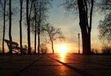 город,утро,рассвет,пейзаж
