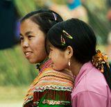 Северный Вьетнам.Бак Ха. Хмонги.