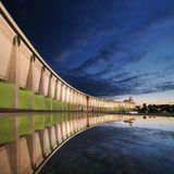 Москва, Парк Победы на Поклонной горе, панорама из двух горизонтальных кадров. Ещё один вариант можно посмотреть у меня в ЖЖ: http://aermolitsky.livejournal.com/32038.html