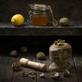 walnut honey lemonорех мед лимон