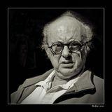 """иллюстрация к словам И. Бабеля """"...на носу очки а в душе осень..."""""""
