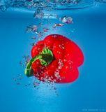 pepperunderwaterbubble
