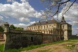 подгорцы, замок, весна, украина