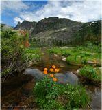 Западные Саяны, природный парк Ергаки, озеро Радужное