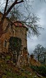 Замок Грабштейн  расположен в Чехии рядом с границей трёх стран: Чехии, Германии и Польши. Замок  был основан в XIII веке.