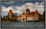 Литва-Тракайский замок...