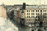 Петербург, городо. проспект, крыша