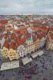 Вид со Староместской ратуши . Прага. Для просмотра нажмите F11:)