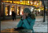 на фото модель Анюта Солодянкина
